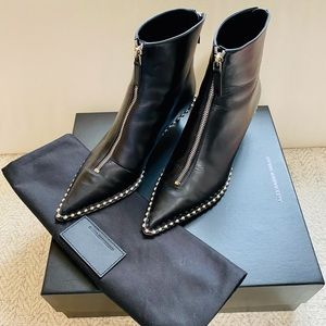 Authentic Alexander Wang Black Leather Boots